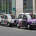 超級可愛又復古的計程車