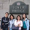 倫敦鐵橋大合照