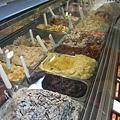 五顏六色的冰淇淋