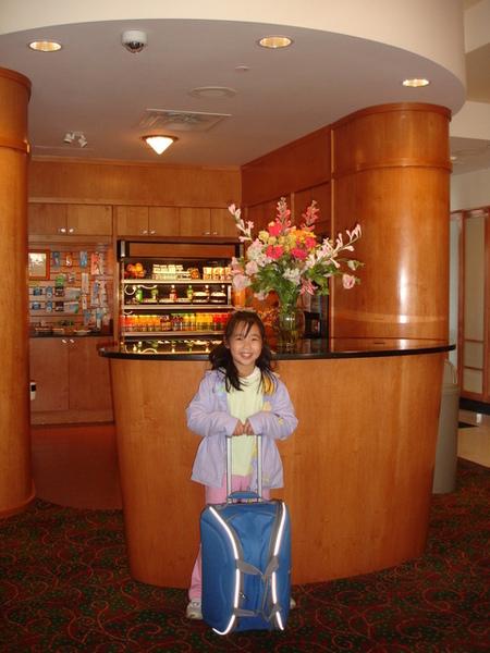 Vivian和她的小藍行李箱