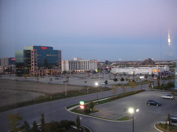 飯店的風景