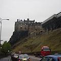 城堡的背面