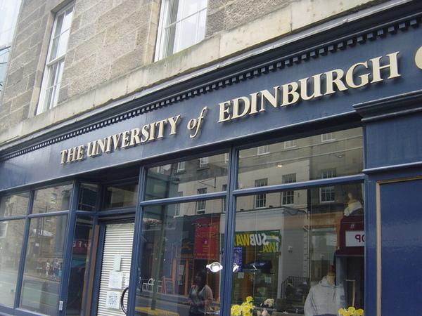 愛丁堡大學的商店