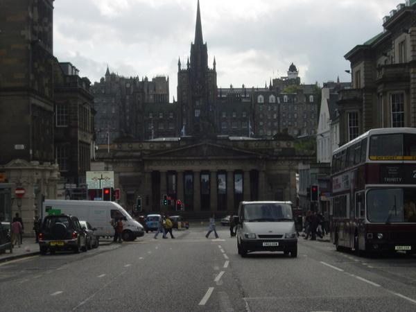 繁忙的街道