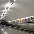 手扶梯永遠那麼長的倫敦地鐵