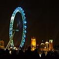 倫敦眼和塔橋