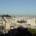 舊金山市的全貌