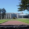 以城市大學來說,它的校舍滿寬廣的
