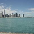 遠眺芝加哥
