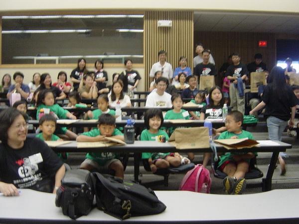 中文夏令營的孩子們