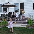 後花園的餐會