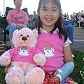 VIvian with her bear