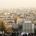 眺望巴黎市區