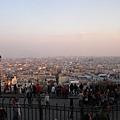 遠眺大巴黎市區