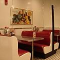 標準美式紅色坐椅