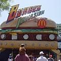 好大的漢堡