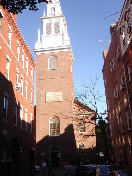 古老的北教堂