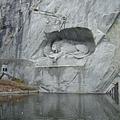 琉森的另一名產--悲傷的獅子