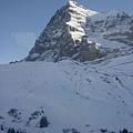 險峻的雪山