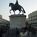 馬德里最出名的太陽門廣場