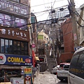 首爾真的是一個多坡的城市耶