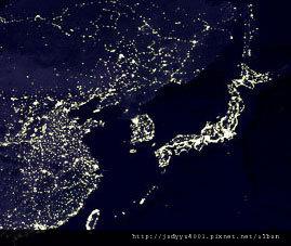 北韓空照圖