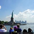 說實話,來紐約這麼多次,這次是我第一次上島耶