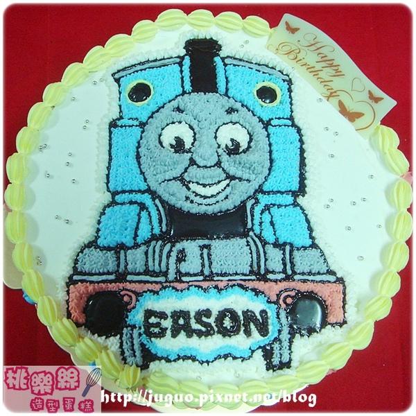 湯瑪士小火車卡通造型蛋糕_8吋