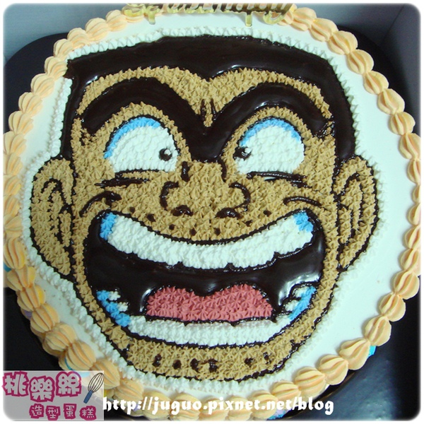 烏龍派出所-阿涼卡通造型蛋糕_8吋