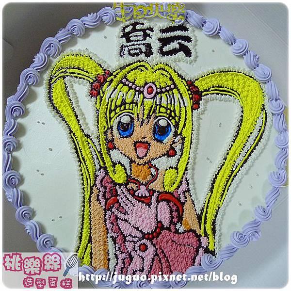 編號:K102_真珠美人魚卡通造型蛋糕_10吋:1590元/12吋:2090元