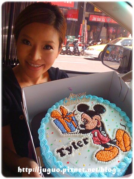 李愛綺小姐訂購的桃樂絲的Mickey Mous米奇卡通蛋糕