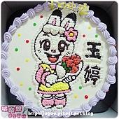編號017_巧虎朋友-琪琪卡通造型蛋糕_8吋:1140元/10吋:1440元/12吋:1940元
