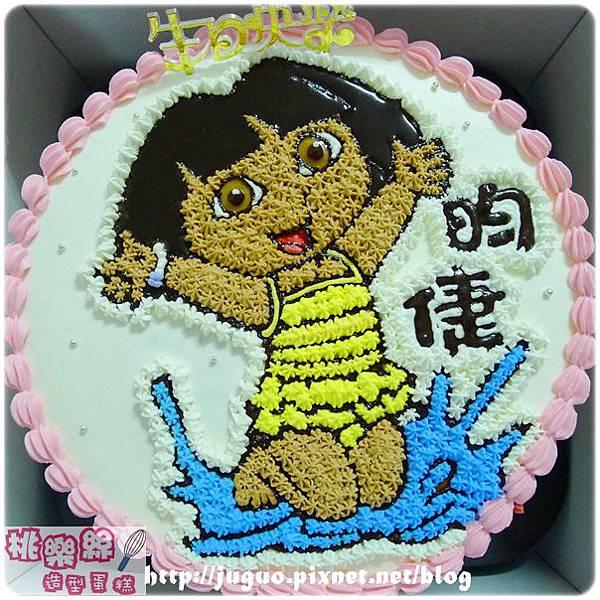 編號013_朵拉Dora卡通蛋糕_8吋:1140元/10吋:1440元/12吋:1940元