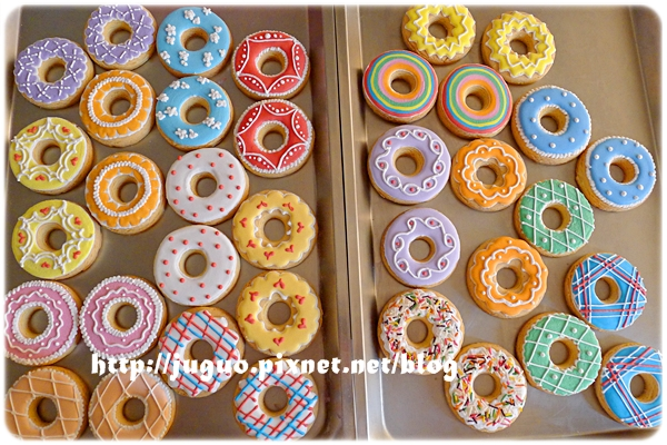 桃樂絲手繪餅乾>糖霜餅乾/翻糖餅乾-收口水餅乾、收涎餅乾36片