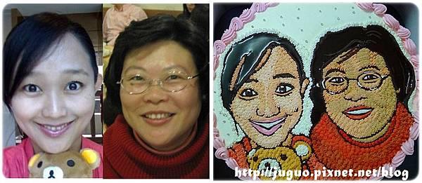 手繪擬真雙人肖像蛋糕_8吋:1950元/10吋:2250元/12吋:3050元