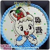 編號018_巧虎朋友-琪琪卡通造型蛋糕_8吋:880元/10吋:1180元/12吋:1680元
