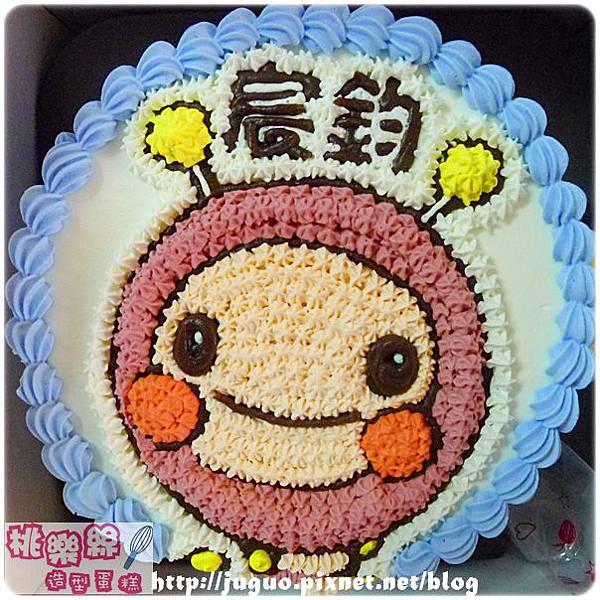 編號:001_MOMO親子台:MOMO蟲手繪卡通造型蛋糕_8吋:1090元/10吋:1390元/12吋:1890元