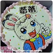 編號019_巧虎朋友-琪琪卡通造型蛋糕_8吋:1140元/10吋:1440元/12吋:1940元