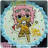 閃電十一人-網海卡通造型蛋糕_8吋:880元/10吋:1180元/12吋:1680元_NO.001