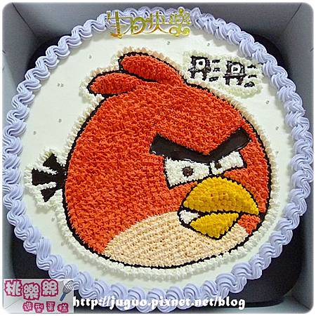 Angry Birds_憤怒鳥卡通造型蛋糕_6吋:780元/8吋:880元/10吋:1180元/12吋:1680元_NO.002