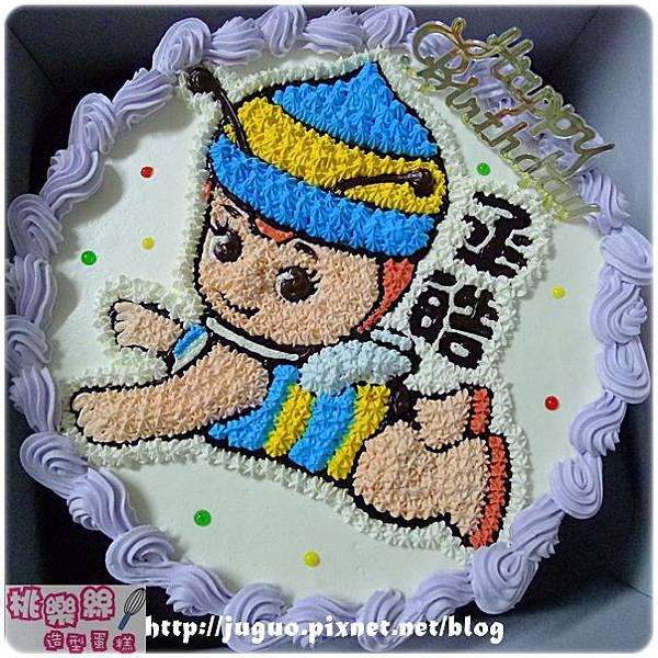 編號:001_小蜜蜂卡通造型蛋糕_8吋:1140元/10吋:1440元/12吋:1940元