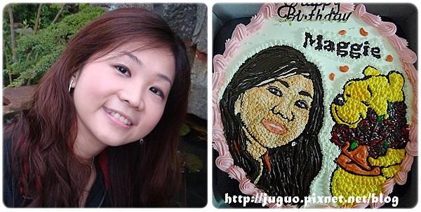手繪擬真肖像蛋糕vs.維尼捧花_10吋:2310元/2吋:3110元
