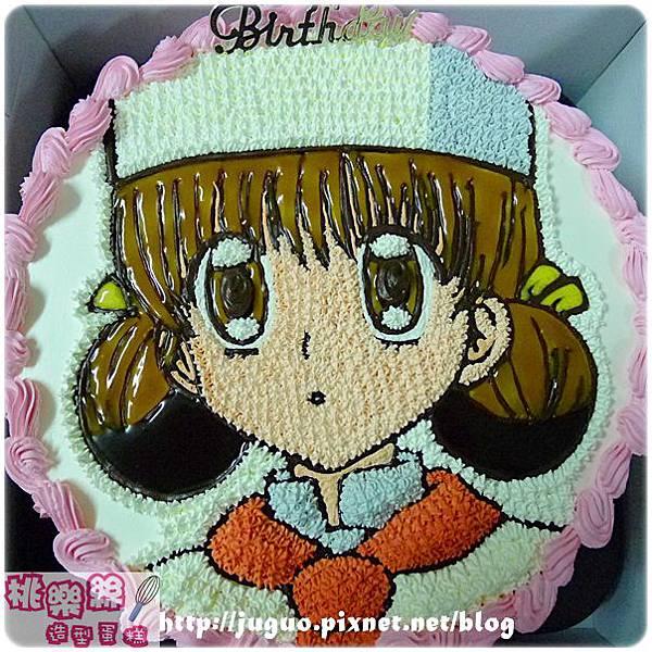 夢色蛋糕師-草莓手繪卡通造型蛋糕_8吋 880元/10吋 1180元/12吋 1680元_NO.001