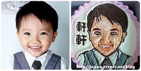 手繪擬真肖像造型蛋糕_6吋:1200元/8吋:1500元/10吋:1800元/12吋:2600元