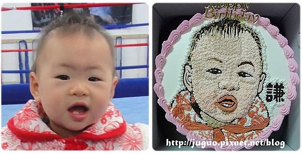 手繪擬真肖像造型蛋糕_8吋:1750元/10吋:2050元/12吋:2850元