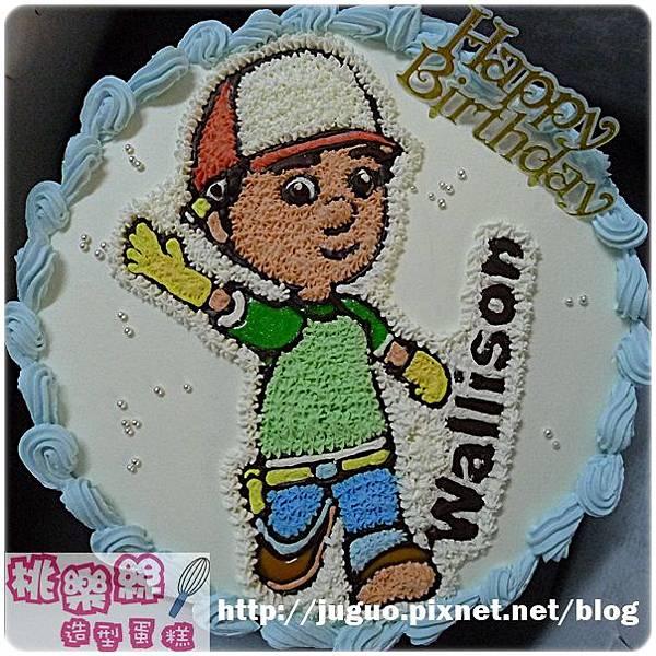 編號:001_萬能阿曼手繪卡通造型蛋糕_8吋1090元/10吋:1390元/12吋:1890元