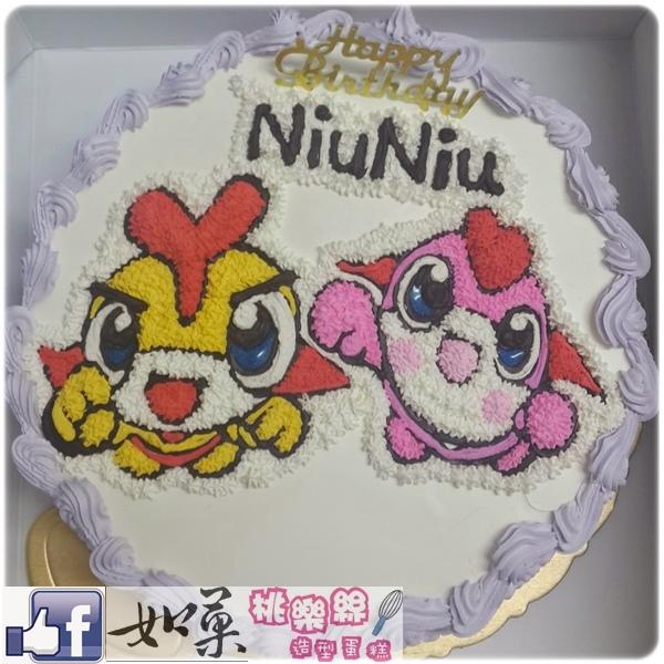 編號:K101_YOYOMAN卡通造型蛋糕_10吋 1540元/12吋 2040元