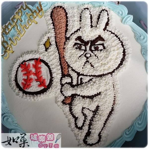 編號:004_兔兔卡通造型蛋糕_8吋:1140元/10吋:1440元/12吋:1940元
