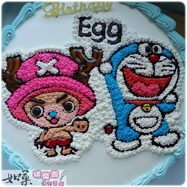編號k126_海賊王:喬巴 卡通造型蛋糕_10吋:1590元/12吋:2090元