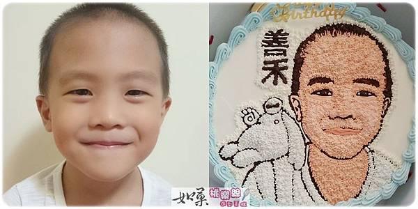 手繪擬真肖像+卡通人物手繪蛋糕_10吋:2200元/12吋:3000元